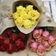 Ramo de Rosas Amarillo