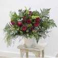 Bouquet Francés Tonos Rojos