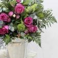 Bouquet Francés Fucsia Rosa