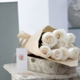 Rosas al Natural Ecobox Blancas