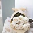 Rosas al Natural Ecobox Blancas