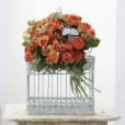 Bouquet Spray Naranja