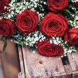 Bouquet Rosa Red Naomi Aleia