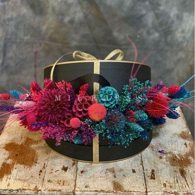 Caja de Flores Secas Decorativas