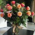 Ramo de Rosas Naranja